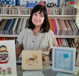 Kate Barlow Embroidery Tutor