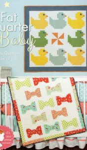 BOOK of the MONTH May 20: Fat Quarter Baby from It's Sew Emma patterns