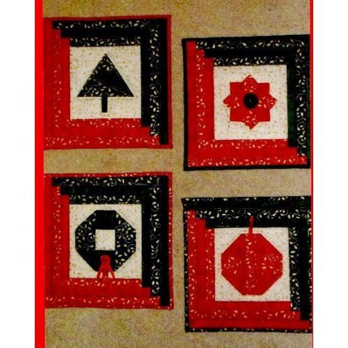727a46d9e Log Cabin Christmas pattern from The Stitch Witch