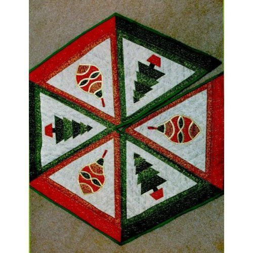 647251cea Christmas Tree Skirt pattern from The Stitch Witch