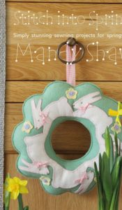 BOOK of the MONTH April 2021: Stitch into Spring by Mandy Shaw