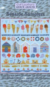 BOOK of the MONTH Feb 20: Seaside Samplers by Gail Lawther