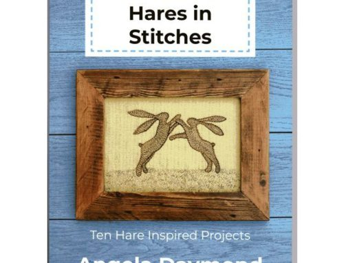 Subscriber Giveaway for September 2021 – A Drove of Hares in Stitches by Angela Daymond
