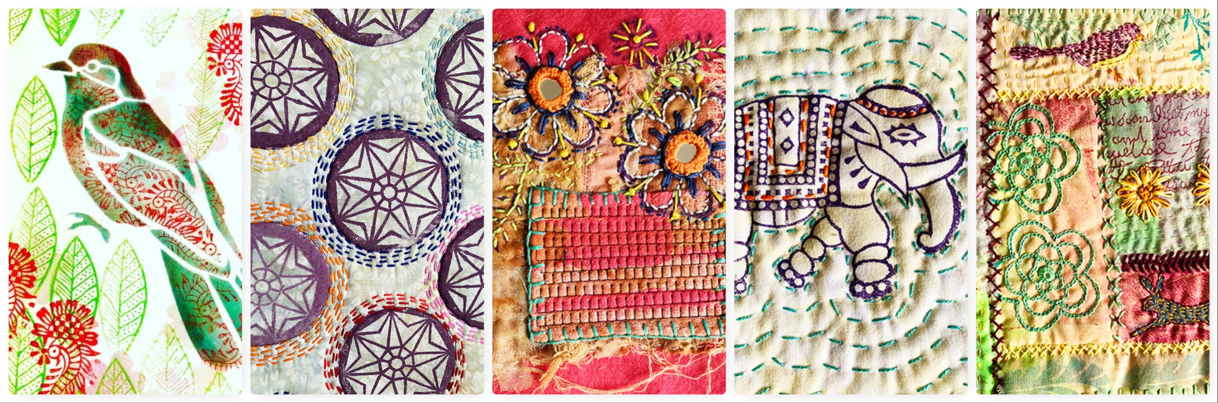 A Textile Weekend in Hampshire, May 2019