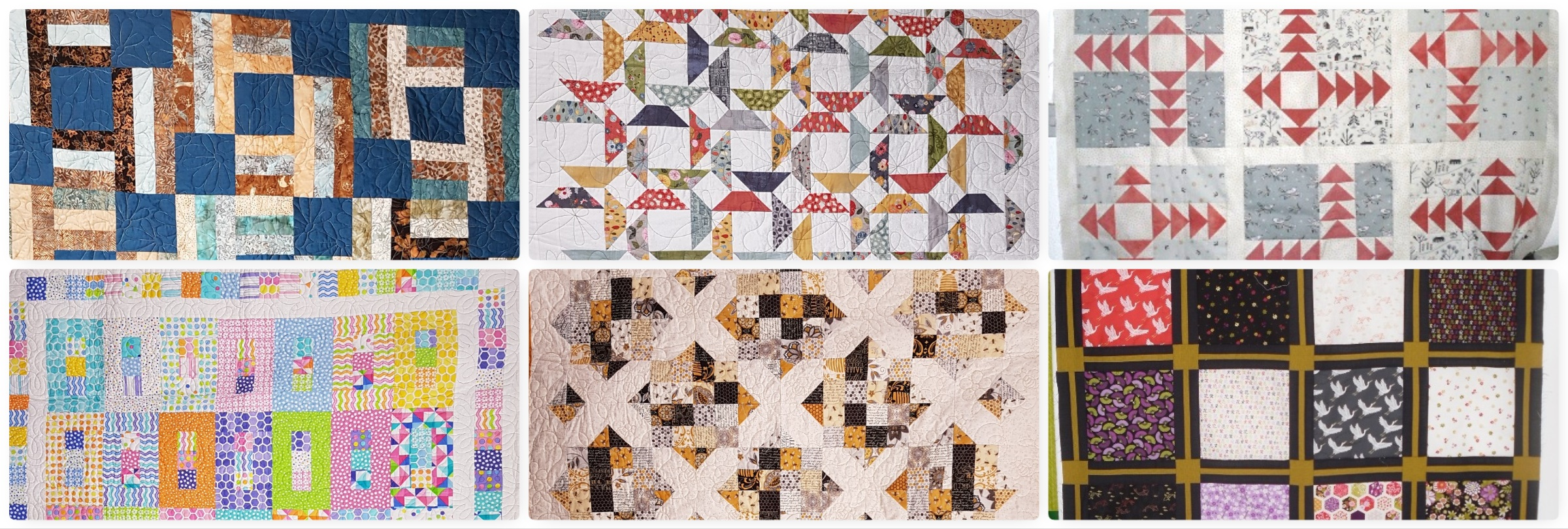 A Patchwork and Quilting Retreat, Eversley October 2019