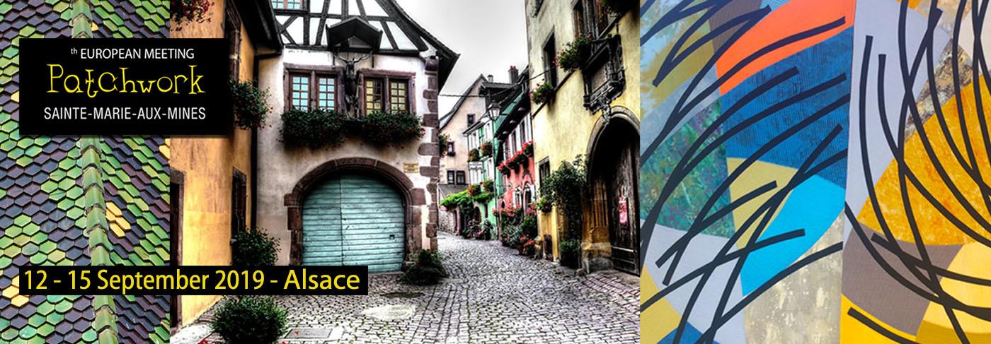 2019 European Patchwork & Textile Tour, Alsace , Sept 2019