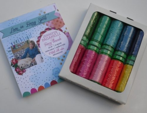 Subscriber Giveaway for Jan 2021 – Pack of 10 Aurifil Threads designed by Jennifer Paganelli