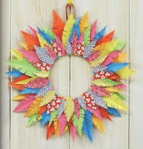 4_terial-paper-feather-wreath - Valerie Nesbitt - valerie