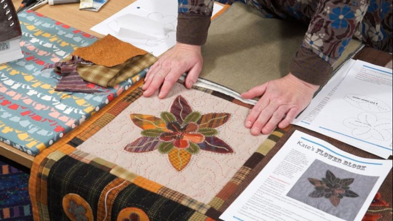 Knit one quilt too the year of applique