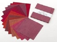 Ruby Red Shot Cotton Charm Packs from Oakshott Fabrics