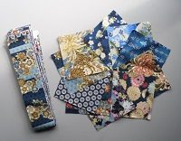 Japanese Charm Pack and Strip Roll