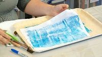 Monoprinting with Angela Daymond