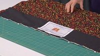 How to put a sleeve on your quilt by Chris Porter