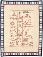 Seaside Sampler Quilt Kit by Doti Doodle