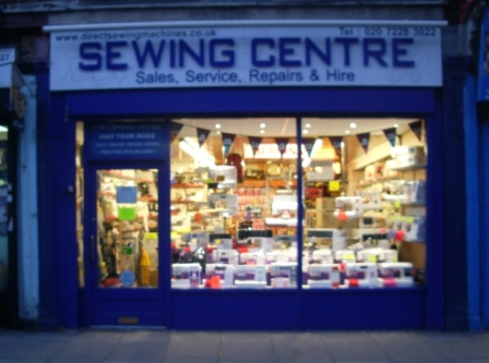 The Sewing Centre, Battersea, London