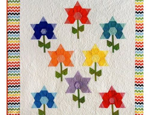 Subscriber Giveaway for April 2019:  Sew Simple Hexi-flowers by Karin Hellaby