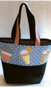 Summer Sundae Bag designed by Sue Rhodes
