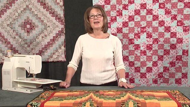 Cylinder method of strip piecing with Valerie Nesbitt