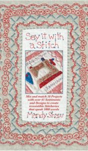 BOOK of the MONTH: Say it with a Stitch by Mandy Shaw
