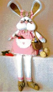 Tracy the Bunny pattern designed by Gail Penberthy