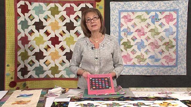Sew Simple Pinwheels by Karin Hellaby