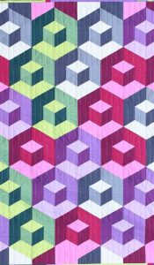 Cubitz Quilt Pack 'n Pattern, set designed by Helen Butcher