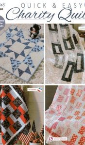 BOOK of the MONTH: Quick and Easy Charity Quilts from Annie's Quilting