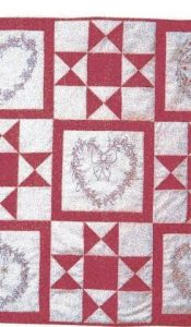 Starry Stitches Throw Kit designed by Sue Rhodes