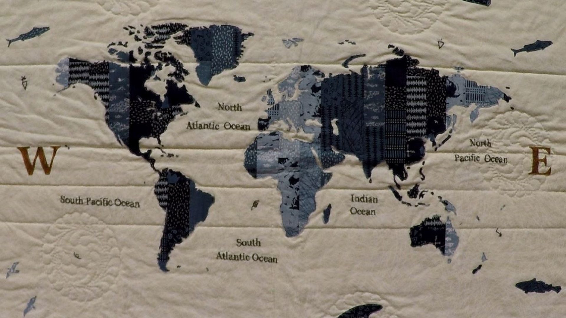 World Map with Janet Clare