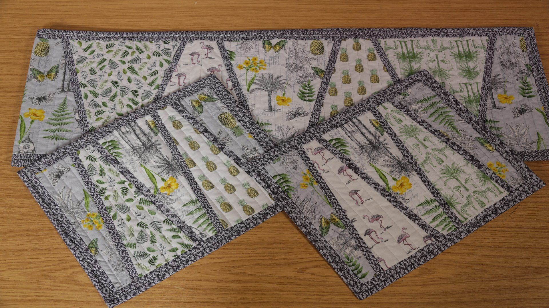 Fern Table Runner with Valerie Nesbitt