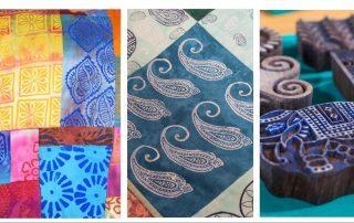 Jamie Malden Textiles Block Printing retreat Colouricious 2