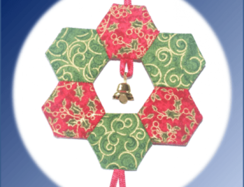 Subscriber Giveaway for July  2019 – Wreath Christmas Ornament kit by Lina Patchwork