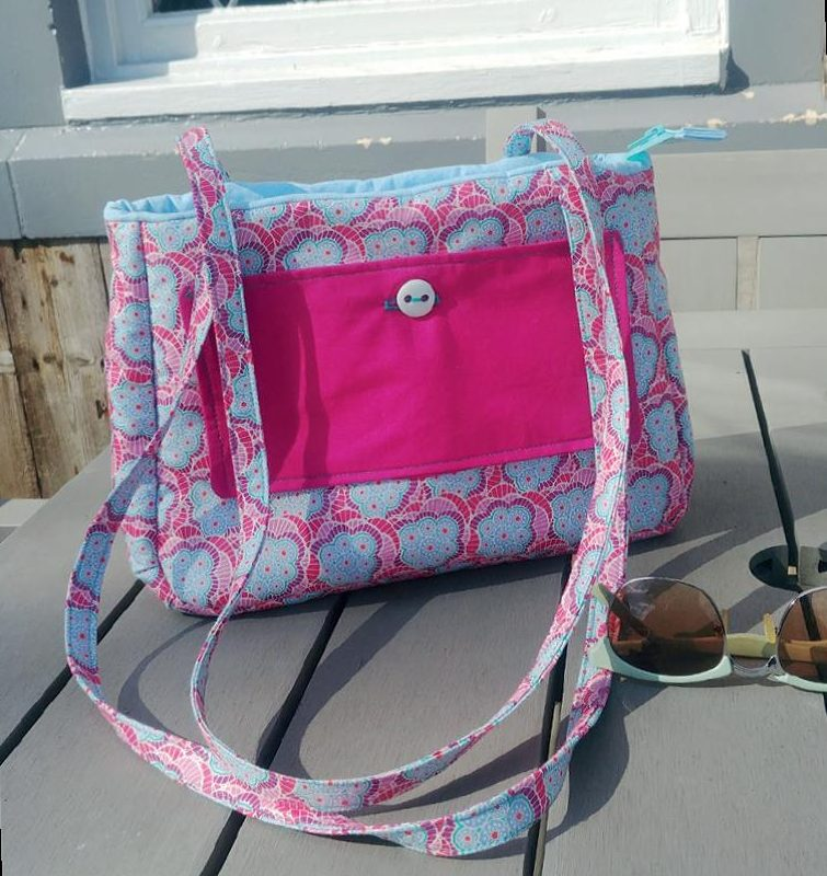 Quilt Now 63 Baker Street Handbag by Sophie