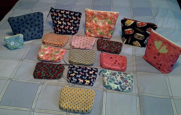 Quilt Now 63 Pouches by Maureen