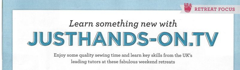 QuiltNow 64 Learn something new about justhands-on.tv retreats article