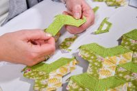 Nancy Adamek, Lina Patchwork, English Paper Piecing, EPP, Cushion, Patterm