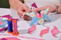 Nancy Adamek, Lina Patchwork, English Paper Piecing, EPP, Table runner
