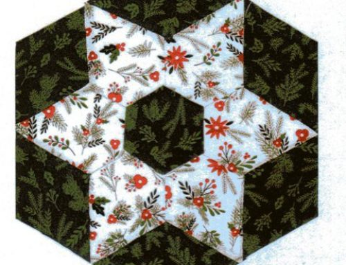 Subscriber Giveaway for November 2019 – Christmas Candle Mat English Paper Piecing Kit