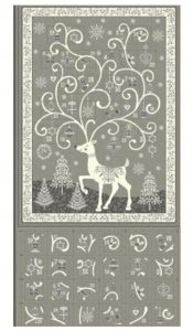 PRODUCT of the MONTH:  Scandi Advent Calendar in Grey from Makower