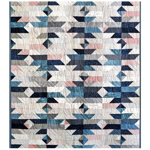 Up Hill Down Dale Quilt Pattern by Janet Clare
