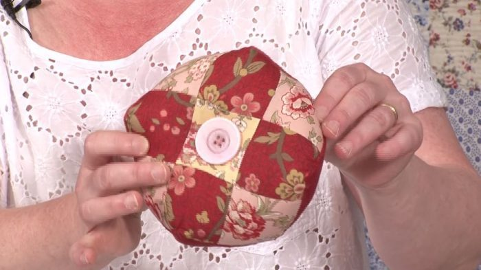 Biscornu Pincushion with Carolyn Forster