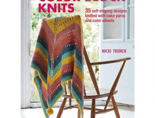 Book of the Month September 2019 : Nicki Trench Color Block Knits