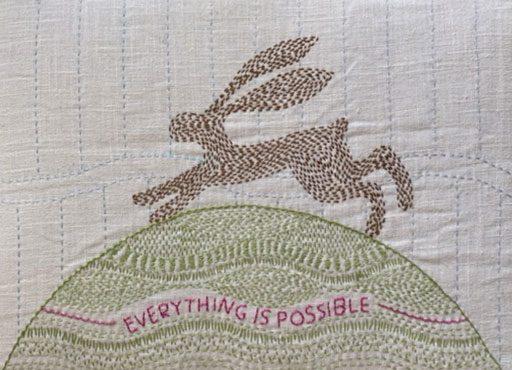 Hope Hare by Angela Daymond