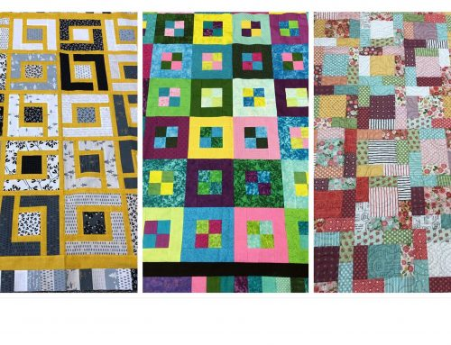A Quilting Weekend in Hampshire, March 2021