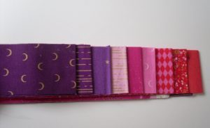 Libs Elliot Jelly roll in pink purple (18 strips)
