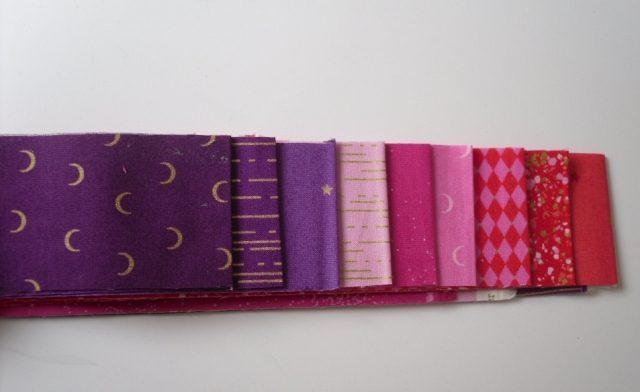 Libs Elliot Jelly roll in pink purple (18 strips)