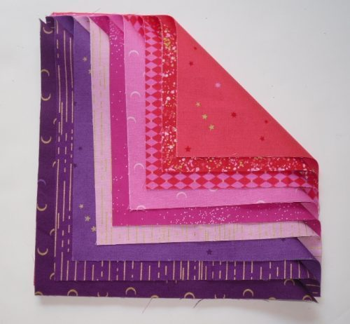 Libs Elliot Layer Cake in pink purple (18 squares)