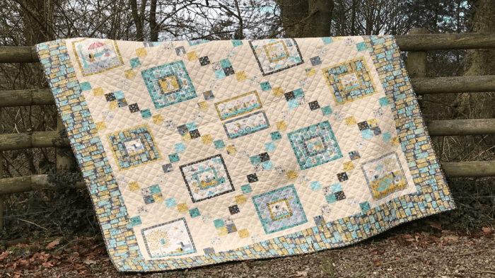 Makower's A Walk in the Park quilt with Valerie Nesbitt