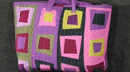 Square Dance Bag with Helen Butcher