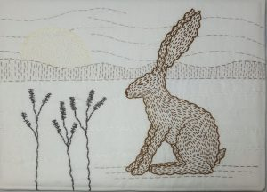 Winter Hare By Angela Daymond